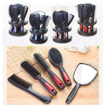 5Pcs /Set New Antistatic Hair Comb Styling Hairbrush with comb hold Hair Care Styling Tools Set