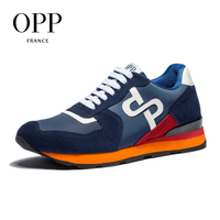 OPP 2018 Cow Leather Flats Fashion Shoes Genuine Leather Loafers For Men Shoes moccasins Men's Casual Footwear 1