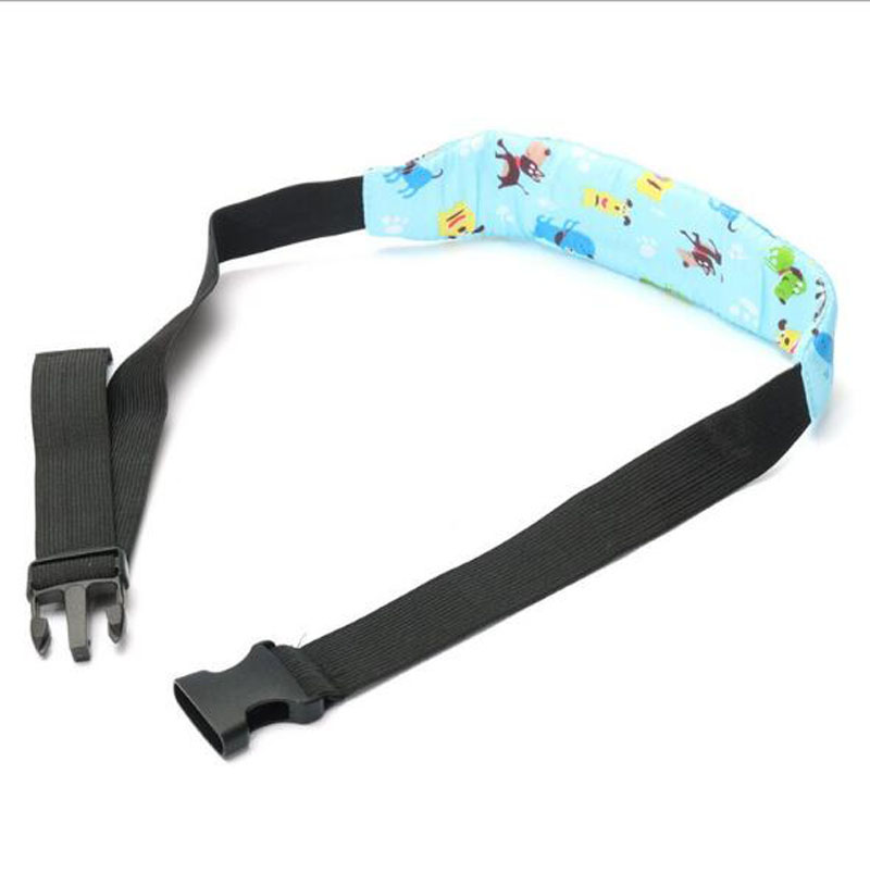 20PCS/Lot Pram Car Safety Seat Sleep Positioner Stroller Baby Head Support Fastening Belt Adjustable Pram Strollers Accessories