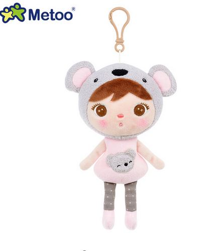 original metoo 22cm Sweet Cute Stuffed Brinquedos Backpack Pendant Baby Kids Toys for Girls Birthday Christmas Bonecas Keppel Do 7inch free shipping stiched stuffed animalsl christmas gift the pendant goods for creativity brinquedos kids