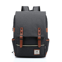 dfed9d33ed9 Men Canvas Backpack Male Schoolbag School Bags for Teenagers Bagpack Men  Laptop Backbag batoh sac a