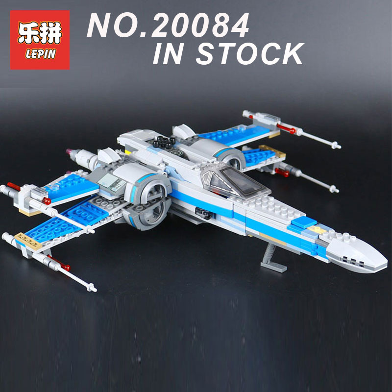 LEPIN 05029 Star Wars Series The Resistance X-Wing Fighter Set Building Blocks assembled LegoINGlys 75149 children toys Gifts