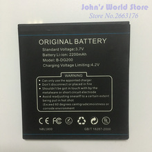 Original Battery for DOOGEE B-DG200 Smartphone 2200mAh Lithium-ion DG200 Mobile Phone battery