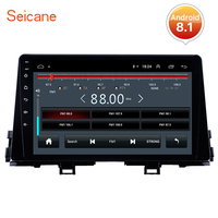 Seicane Car Radio Stereo Multimedia Player Navigation GPS 2din Android 8.1 for 2016 Kia Morning support DVR OBDII Rear Camera