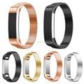2016 Nueva Marca de Alta Calidad de Acero Inoxidable Reloj Pulsera Correa de La Venda de Elástico Para Fitbit Alta Tracker Reloj Accesorios