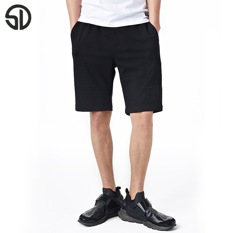 Woodvoice 2017 Summer Brand Clothing Mens Jogger Sporting Shorts Fashion Streetwear Short Trousers Males Fitness Gyms Shorts