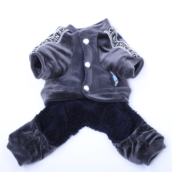 Velvet Dog Jumpsuit  3