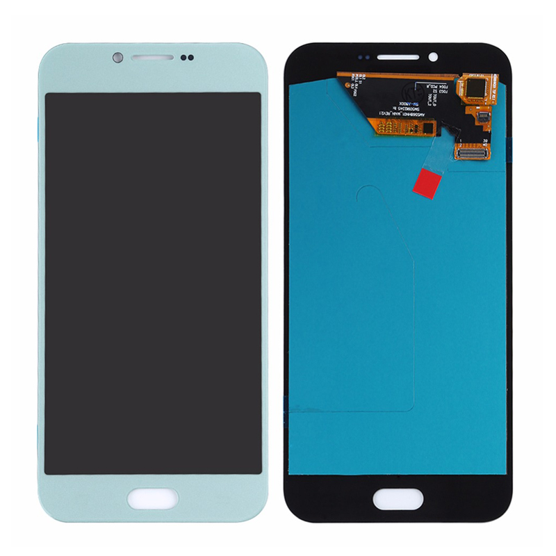 Super AMOLED OLED For Samsung Galaxy A810 A8 2016 A8100 LCD Display Touch Screen Digitizer Full Assembly Replacement in Mobile Phone LCD Screens from Cellphones Telecommunications