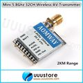 2KM range Aomway mini Micro 200MW 32ch 5.8GHz Video Transmitter With Cable Set for fpv gopro RC MultiCopter DJI