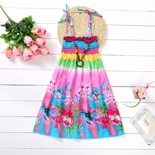 Summer Bohemian Beach Girls Dress