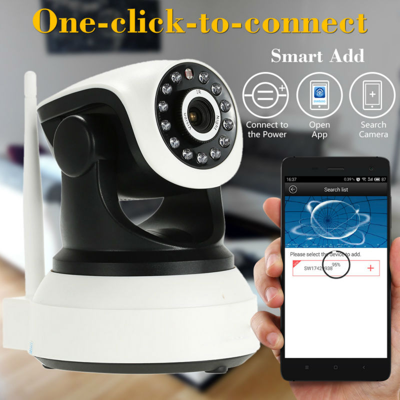 Wifi PTZ Camera Night Vision Video Surveillance IP Cam Security CCTV Network Recorder P2P HD 720P Support Remote Phone Control neo coolcam nip 02oao wireless ip camera network ir night vision cctv video security surveillance cam support iphone android
