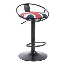 Гладить Книги по искусству барный стул Европейский Стиль повернут высокого стула с подножкой бытовые отдыха поднял барный стул