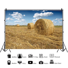 Yeele Hay Bales Stack Agriculture Autumn Harvest Rural Scenery Photography Backgrounds Photographic Backdrops For Photo Studio national bank for agriculture and rural development nabard