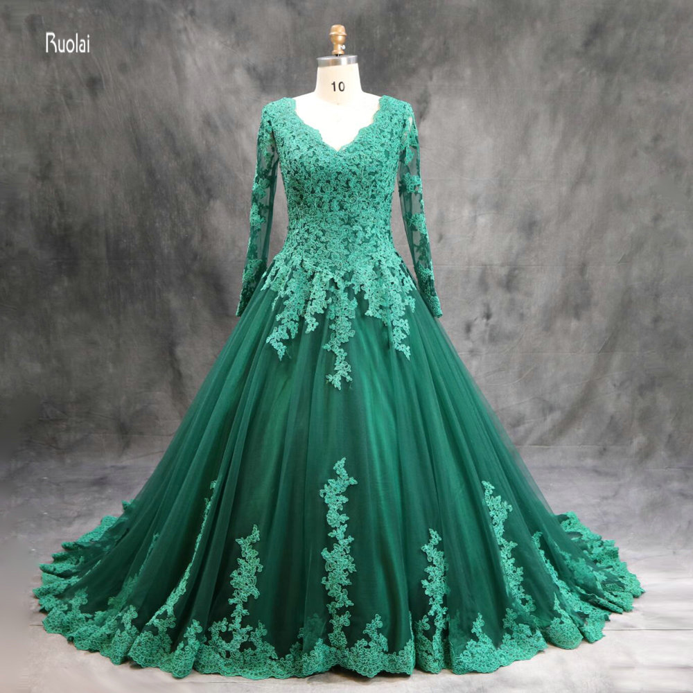 vestido de noiva   Evening     Dress   2017 Long Lace Appliques Party   Evening     Dress   Ball Gown Prom   Dresses   Lace Up Back   Evening   Gown