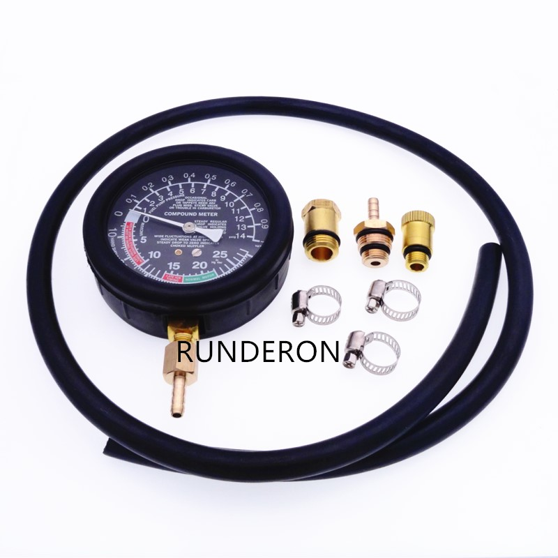 Diagnostic-Tool Exhaust-System Gauge Pressure-Detector-Tester Emissions Catalytic Automotive