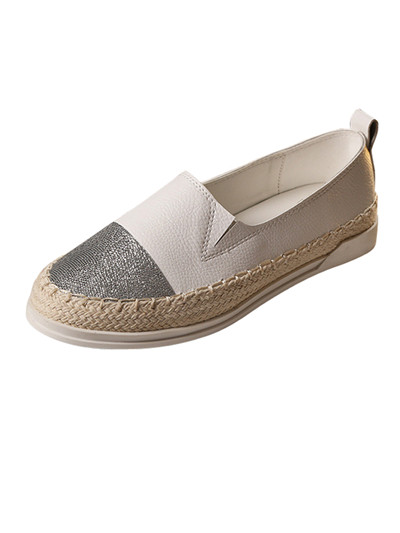 Spring Women Glitter Loafers 2017 Summer Slip On Flats Fisherman Shoes Woman Casual Flat Shoes Plus Size 35-43 flat shoes women pu leather women s loafers 2016 spring summer new ladies shoes flats womens mocassin plus size jan6