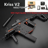 Fast shipping Upgradedy LeHui KRISS VECTOR V2 Gel Blaster Nylon 11.V Battery Electronic Water Gel Ball Gun WIth Three Mode