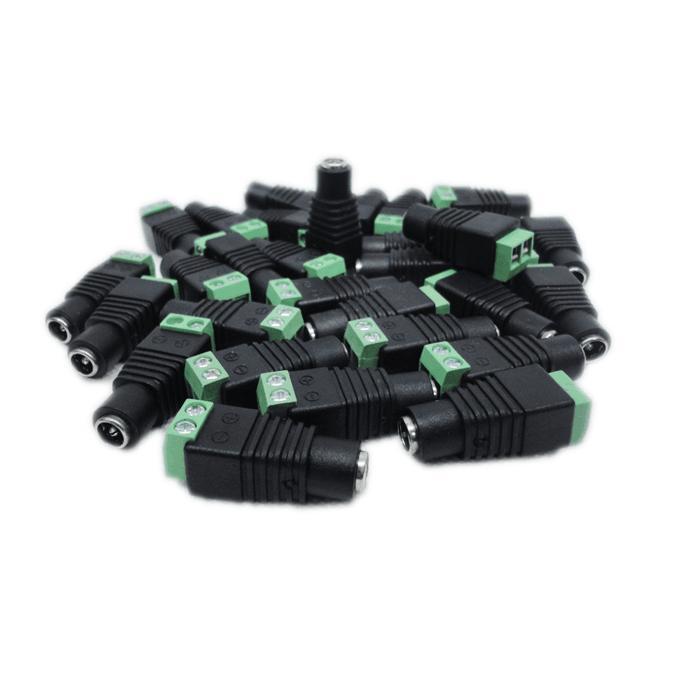 10Pcs 2.5 X 5.5 5.5*2.5mm DC Power Female Plug Jack Adapter Connector Plug