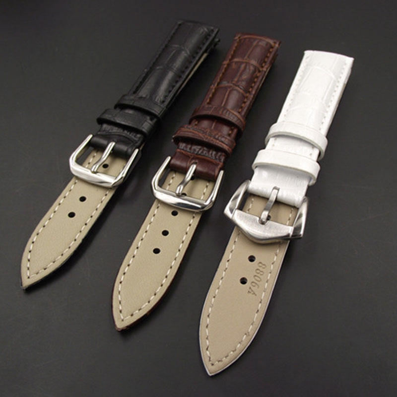 New Leisure Durable Fashion 18/20mm Croco Grain Style PU Leather Watch Band Strap 88 LL lucky john croco spoon big game mission 24гр 004
