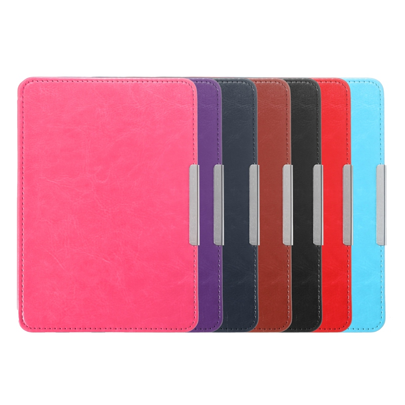 For Amazon Kindle Paperwhite Case PU Leather Cover Smart Slim Magnetic 6inch Tablet Cover Case For Kindle Paperwhite japan tokyo boy girl magnet pu flip cover for amazon kindle paperwhite 1 2 3 449 558 case 6 inch ebook tablet case leather case