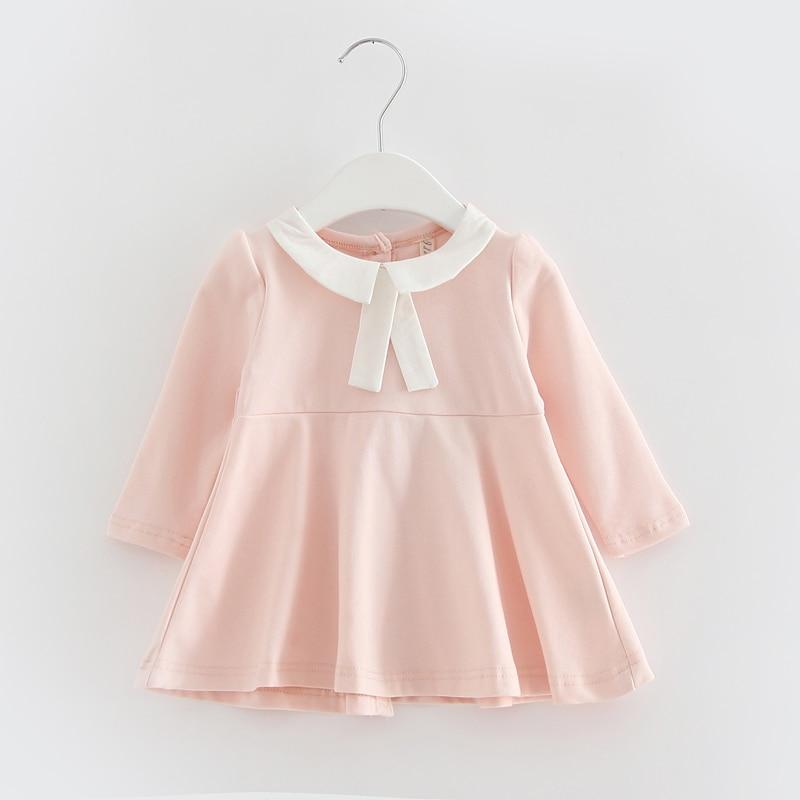 New-2017-Autumn-Kids-clothes-Girls-long-sleeved-t-shirt-Girls-baby-dress-kids-clothing-dress-childrens-dress-4