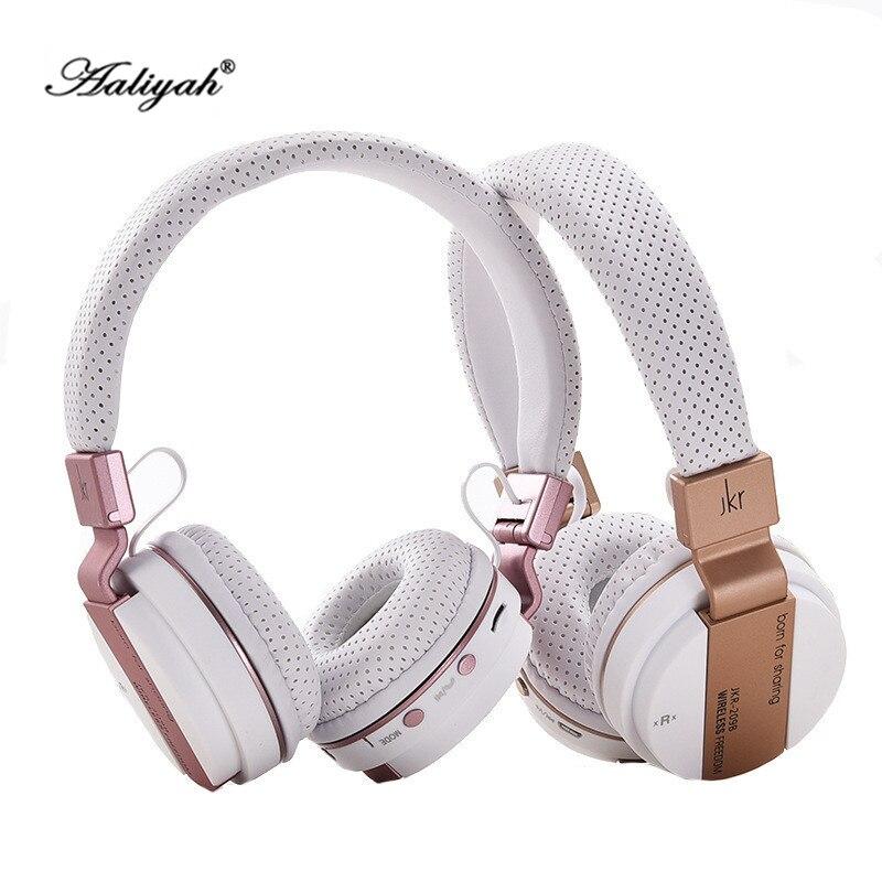 Aaliyah Foldable Headband Wireless Bluetooth Headphone With Mic Support TF Card Bluetooth Headset Stereo Earphone For Samsung