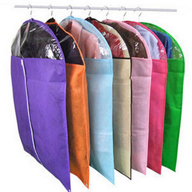 Storage Bag Case for Clothes Organizador Garment Suit Coat Dust Cover Protector Wardrobe Storage Bag for Clothes Organizador