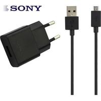 Original da Sony UCH20 carregador carregador de Viagem + Sony Micro Cabo USB Para Sony Xperia Z1 Z2 Z3 Z4 Z5 COMPACTO z5 PREMIUM M4 AQUA