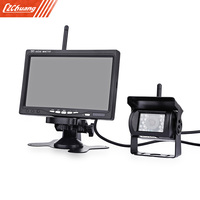 PZ607 W Truck Wireless Rear View System TFT LCD Colorful Monitor High Definition Camera