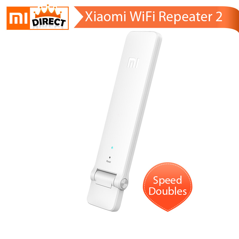 English Version Original Xiaomi WiFi Mi Amplifier 2 Wireless Xiaomi Wi-Fi Repeater 2 Router Extender Antenna 300Mbps 802.11n