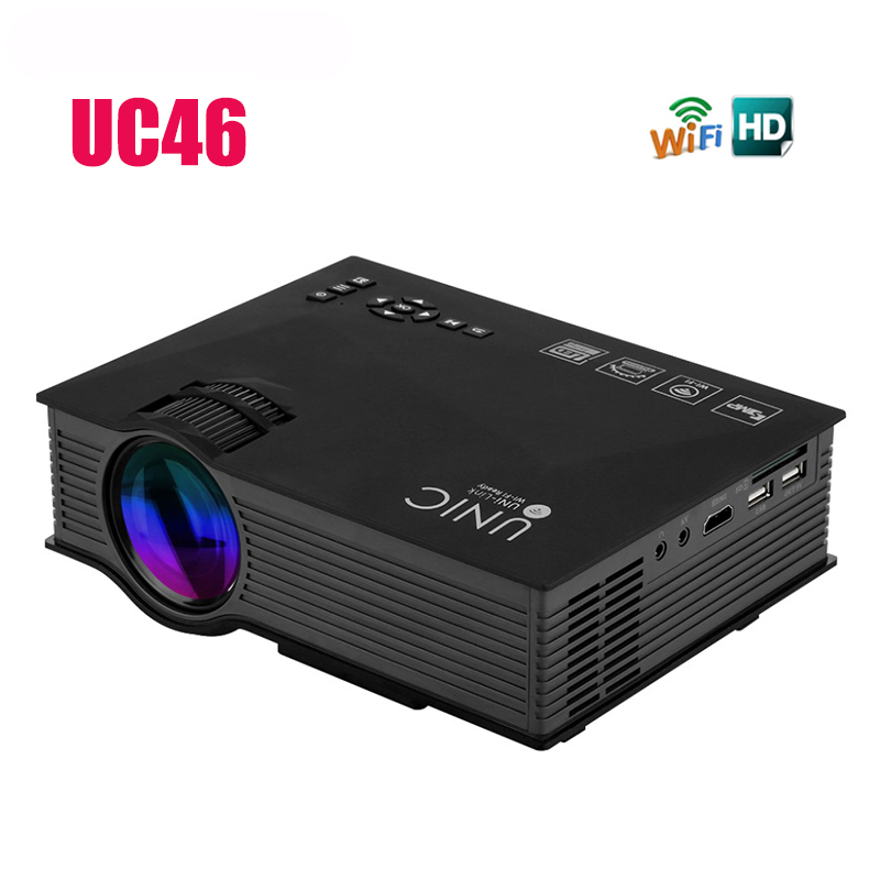 Sale new uc46 portable mini led projector support 1080p for Best small hd projector