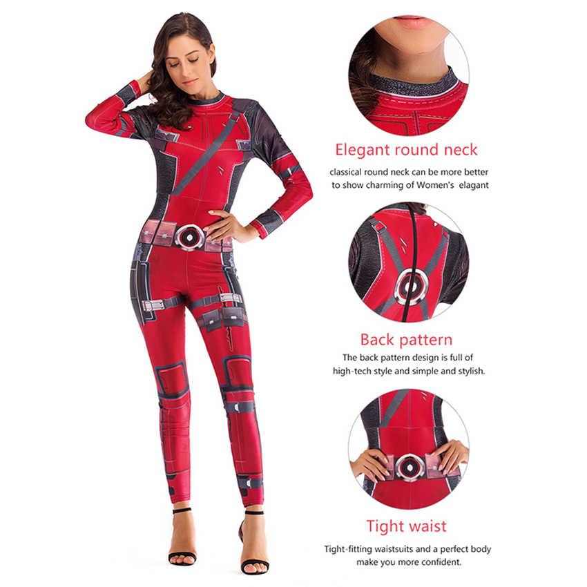 Fim do jogo Trajes Mulheres Macacões Quantum Terno Guerra Capitão Marvel Cosplay Halloween Traje Vestido de Festa Festivo Disfraz Mujer