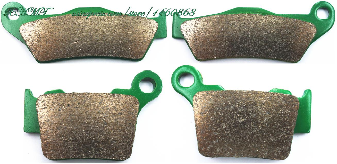 Brake Pads Set For Ktm Exc 125 200 250 300 450 2004 2005 2006 2007 2008 2009 2010 2011 2012 2013 2014 2015 / 500 2012 &Up