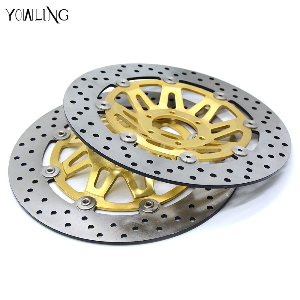 new 298MM 2 pieces of motorcycle  Front Brake Discs Rotor For Honda CB400 1999 2000 2001 2002 2003 2004 2005 2006 2007 2008 2009 motorcycle taillight assembly suitable for honda vtr1000 1999 2000 2001 2002 2003 2004 2005 2006 rear brake lights