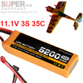 3s 35c 11.1v 5200mah airplane model battery 35C 5200mah aeromodeling battery model aircraft li-polymer battery drone battery