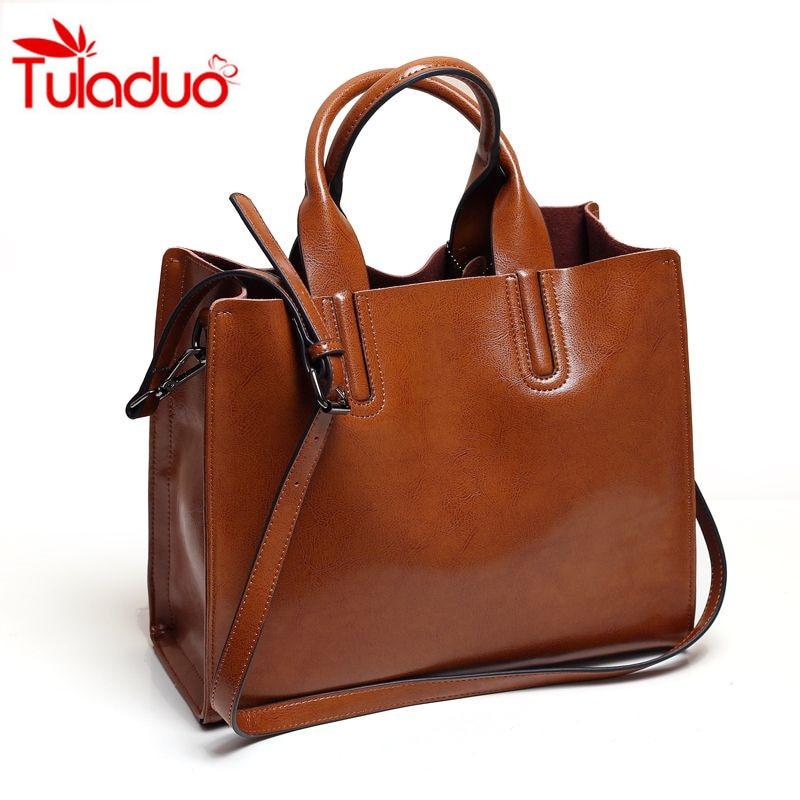 2017 Leather Handbag Women Famous Brands Women Casual Bags Large Tote Trunk Brand Shoulder Bag Women's Large Shoulder Bag Bolsos
