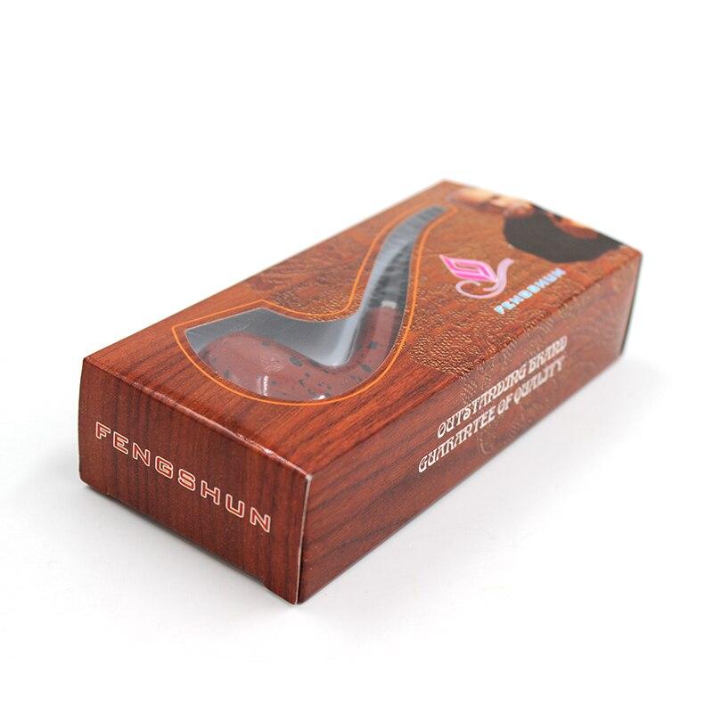 1 шт. Портативный деревянный курения табака трубы Прочный Классическая сигары трубы с резиновым кольцом Best дело