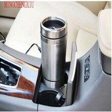 Edelstahl Thermomup 12 V heizung Edelstahl Auto Isolierung Topf Wasserkocher allgemeine vakuumisolierung Cup Thermoelement