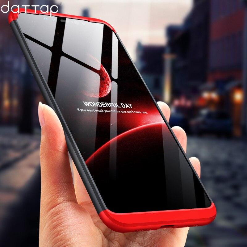 360 Full Protection Case for Xiaomi Pocophone F1 Case Luxury Hard PC 3 In 1 Back Cover for Xiaomi Poco F1 Pocophone F1 Coque