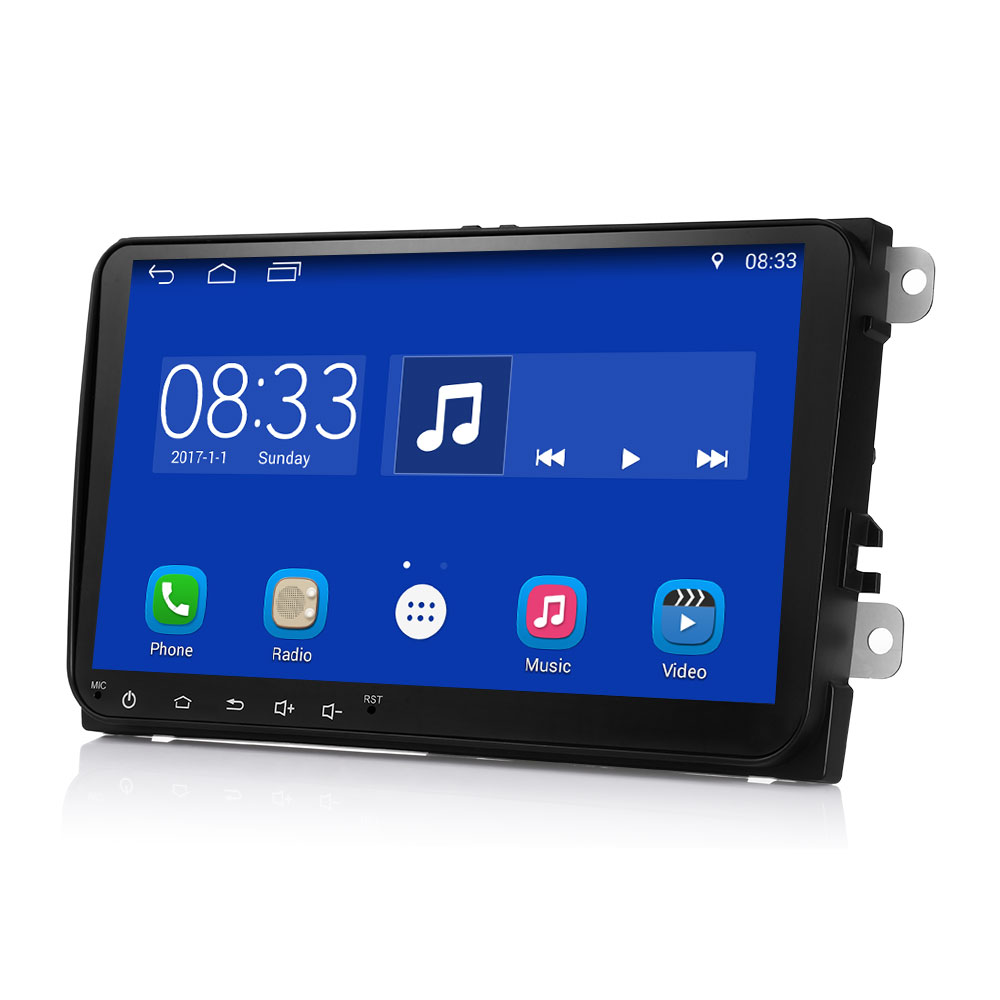 9001A 9-inch HD Car Multimedia Player Android 7.1 Bluetooth 4.0 GPS for VW open secret