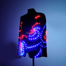 LED Costume robot /LED Stage clothes/ Luminous costume/LED suit