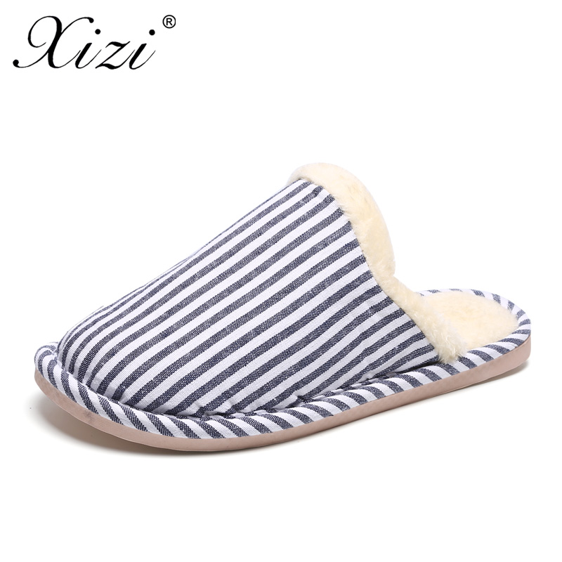 XIZI Hot Sale Slippers Women Slippers Home Shoes Plaid Linen Non-slip Soft Warm Slippers Indoor Bedroom Loves Couple Floor Shoes 2017 hot sale women flip flop slippers female summer indoor anti slip slippers soft lightweight shoes size 36 40 available