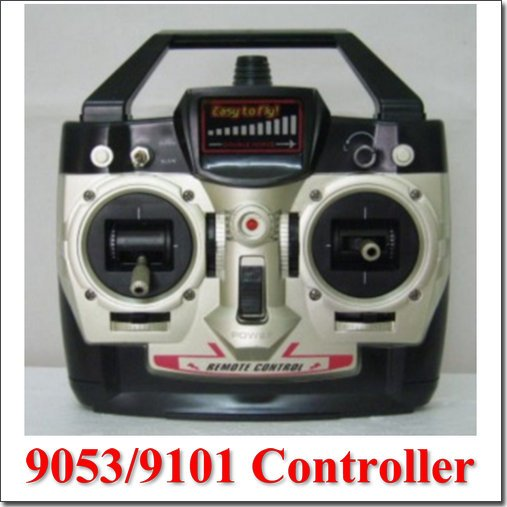 Double Horse shuangma sm dh9053 remote control controller transmitter 27 145MHZ