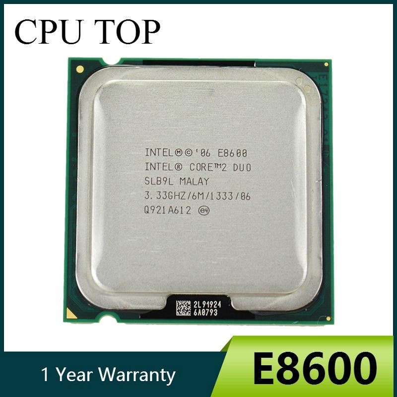 Процессор Intel Core 2 Duo E8600 3,33 ГГц 6M 1333 МГц Socket 775 CPU