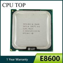 Processador intel core 2 duo e8600 3.33ghz 6m 1333mhz soquete 775 cpu