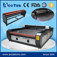 Big size 1626(1325 1530 1535) co2 laser leather cutter, cheap co2 laser cutting machine for fabrics with CE FDA ISO