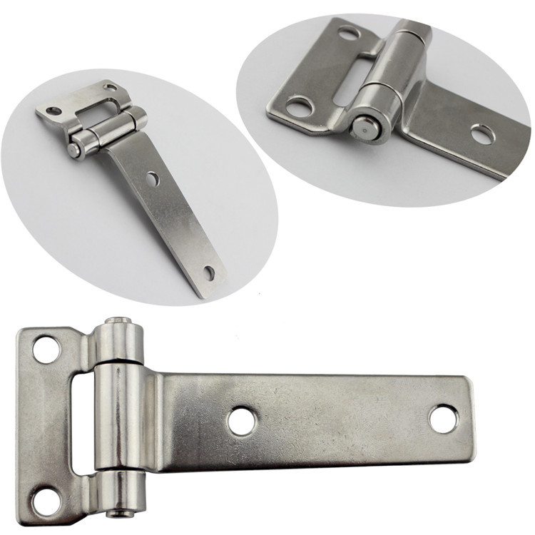 Durable Stainless Steel T Type Container Hinge Heavy Truck Vehicle Hinges 135*58mm-in Marine Hardware from Automobiles & Motorcycles