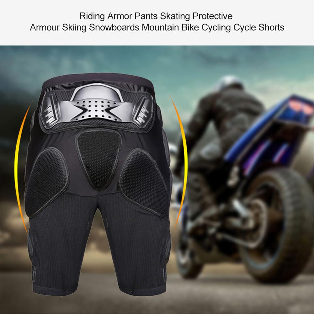 For GHOST RACING Riding Armor Pants Skating Protective Armour Skiing Snowboards Mountain Bike Cycling Cycle Shorts(China)