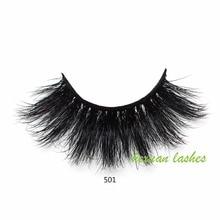 HEXUAN lashes 5D mink eyelashes long lasting mink lashes natural dramatic volume eyelashes extension Reusable цена