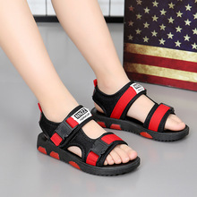 2019 summer childrens big girls boys shoes pupils non-slip beach explosions student sandals